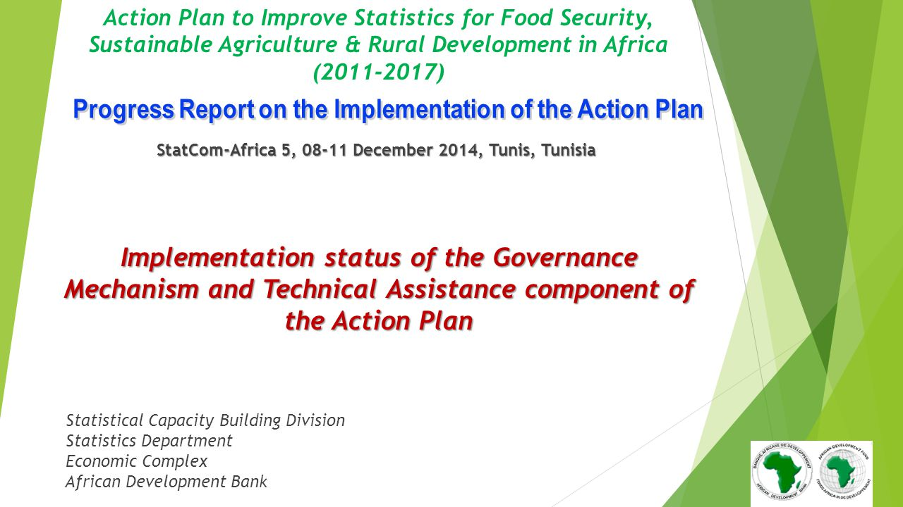 Progress Report on the Implementation of the Action Plan
