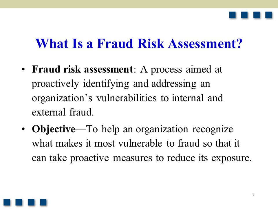 What Is a Fraud Risk Assessment