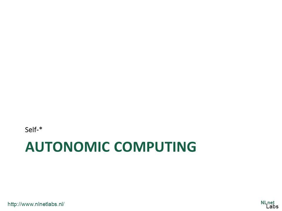 Self-* Autonomic Computing