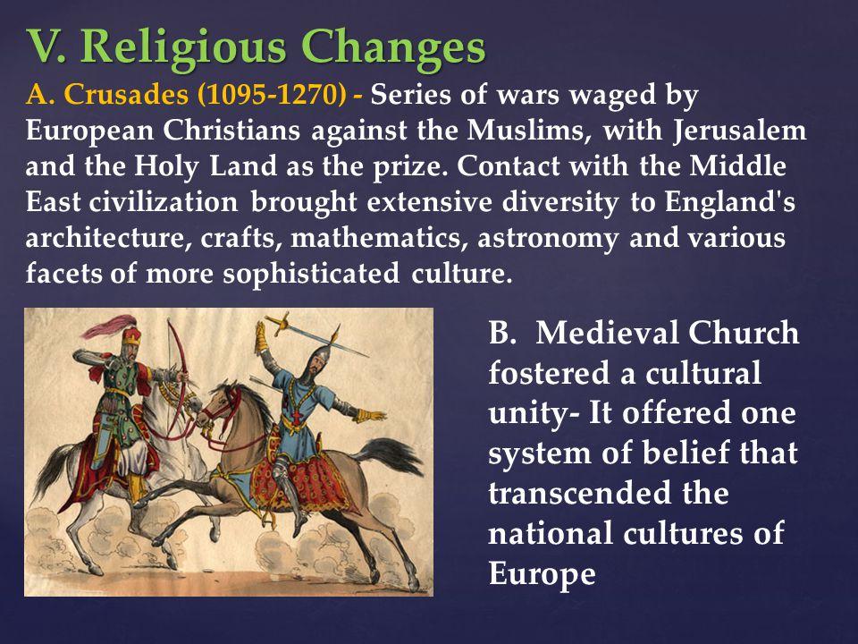 V. Religious Changes