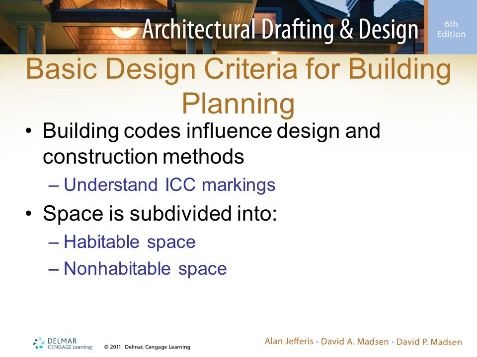 Basic Design Criteria for Building Planning