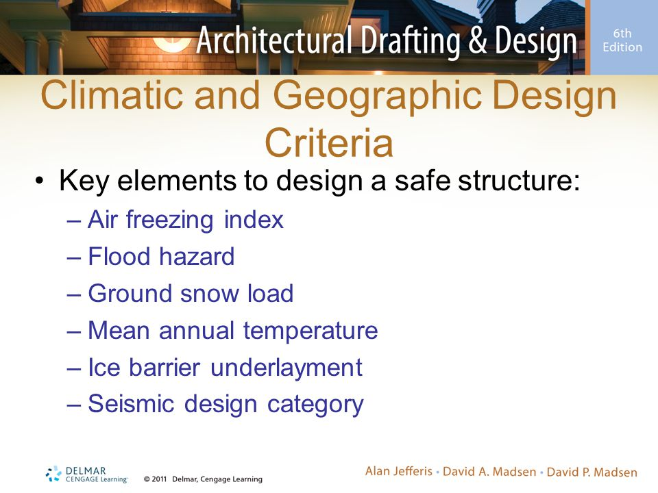 Climatic and Geographic Design Criteria