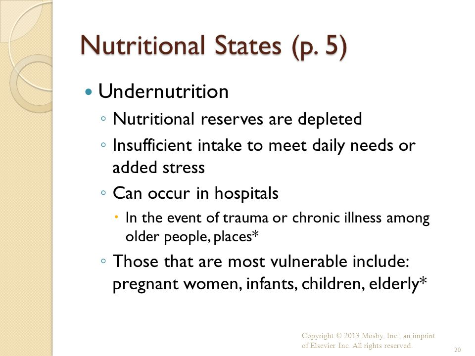 Nutritional States (p. 5)