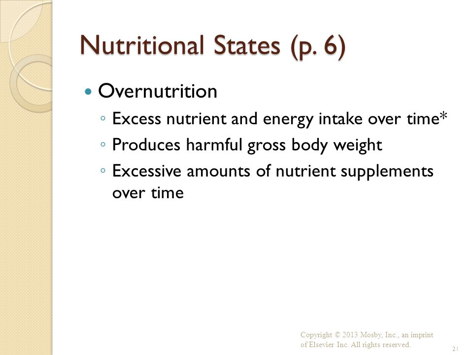 Nutritional States (p. 6)