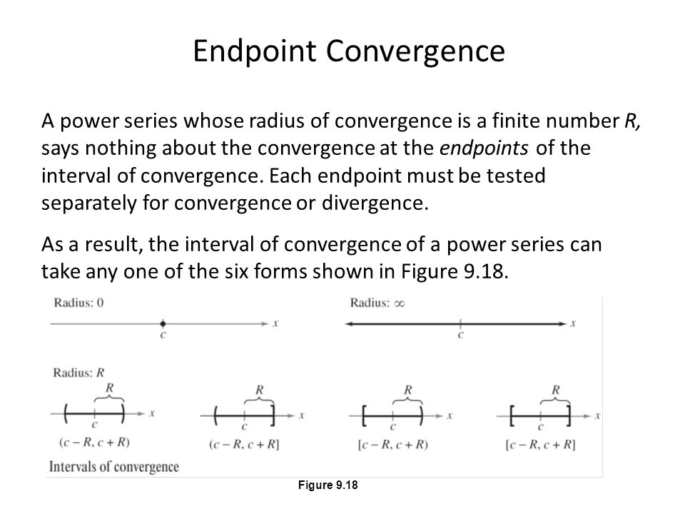 Endpoint Convergence