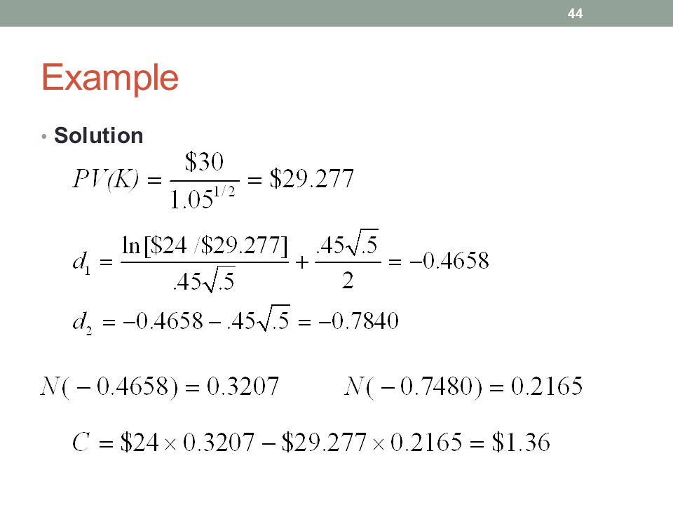 Example Solution 44