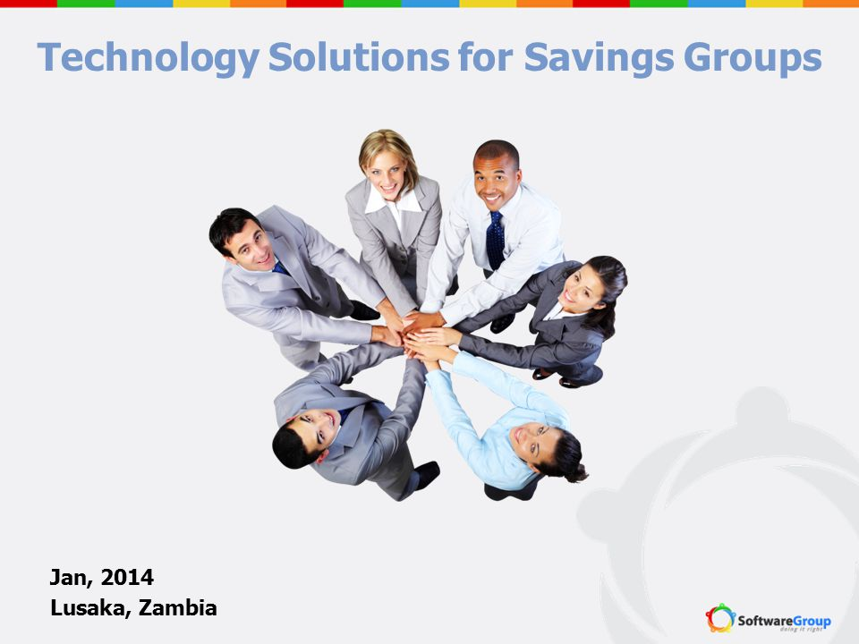 Technology Solutions for Savings Groups
