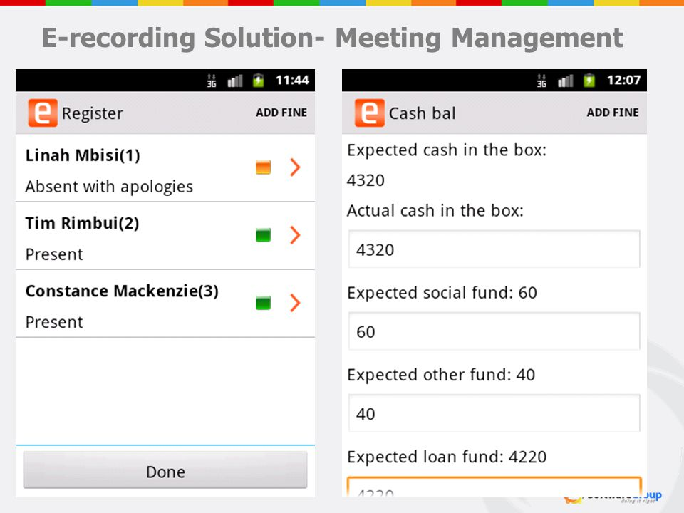 E-recording Solution- Meeting Management