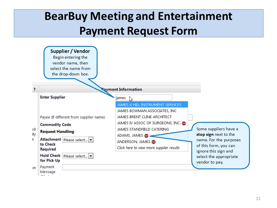 BearBuy Meeting and Entertainment