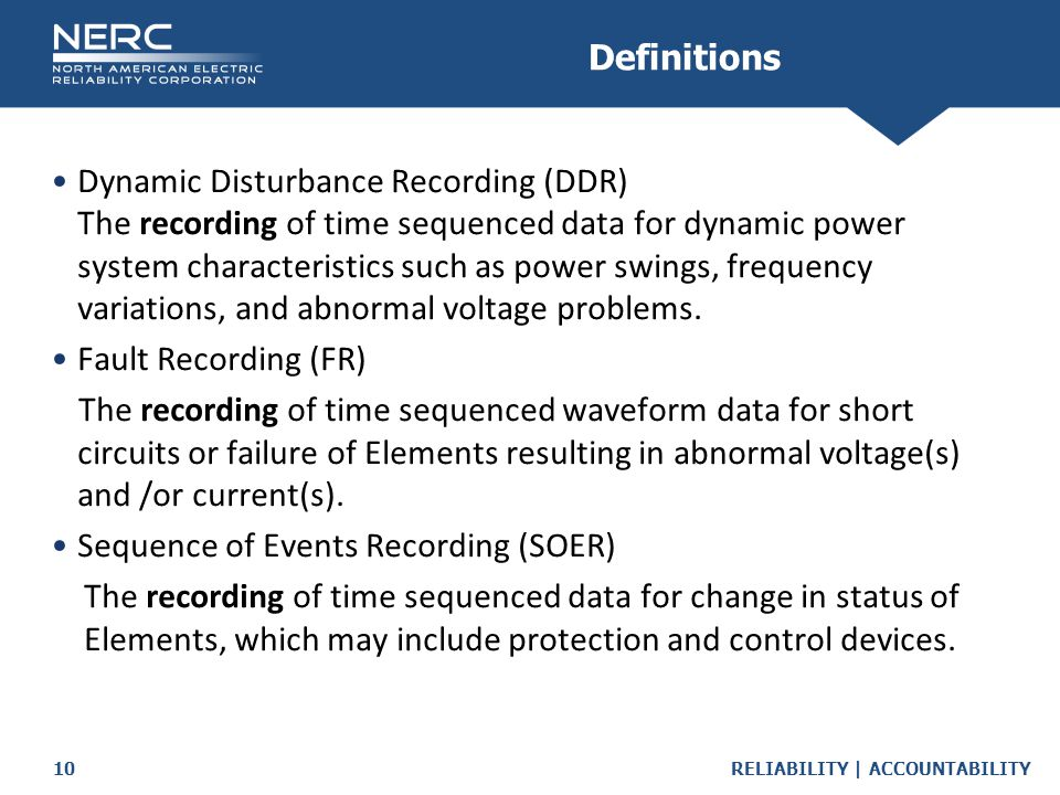 Sequence of Events Recording (SOER)
