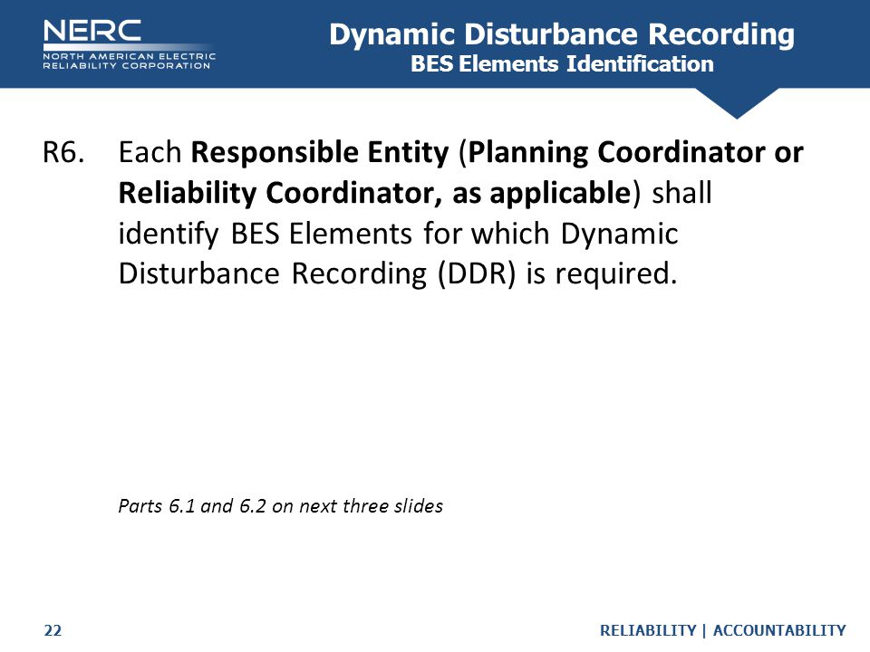 Dynamic Disturbance Recording BES Elements Identification