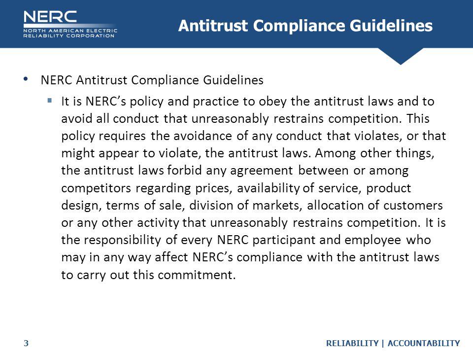 Antitrust Compliance Guidelines