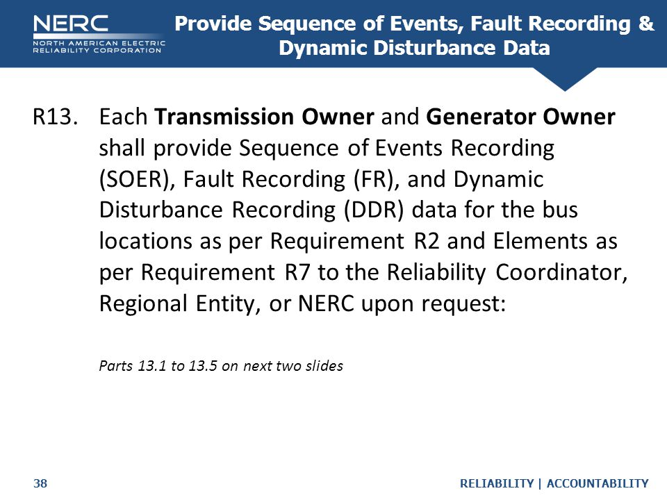 Provide Sequence of Events, Fault Recording & Dynamic Disturbance Data