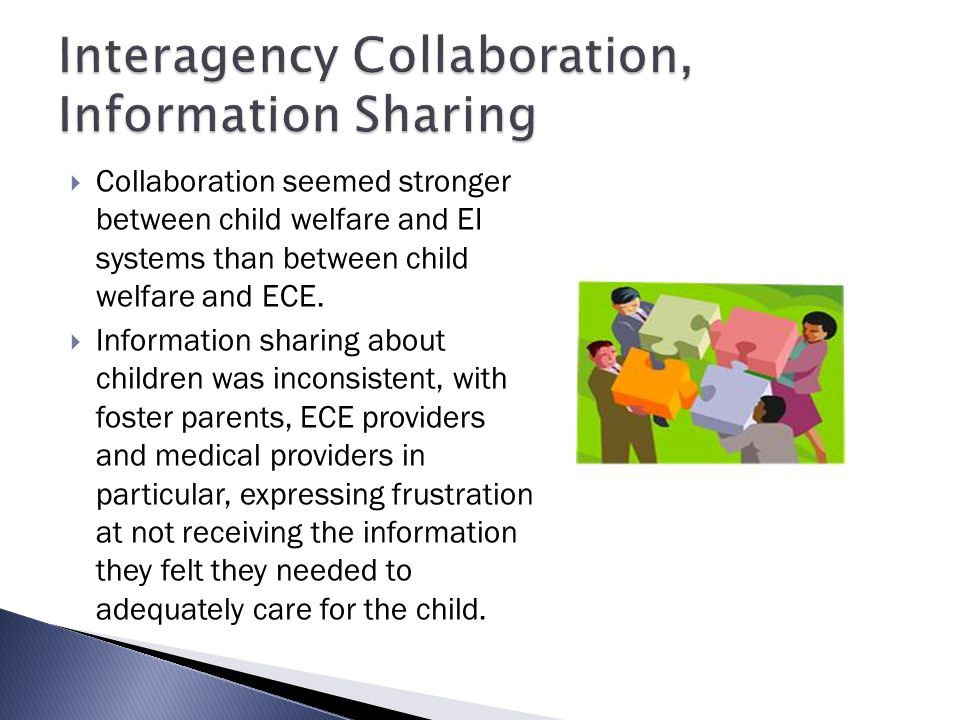 Interagency Collaboration, Information Sharing
