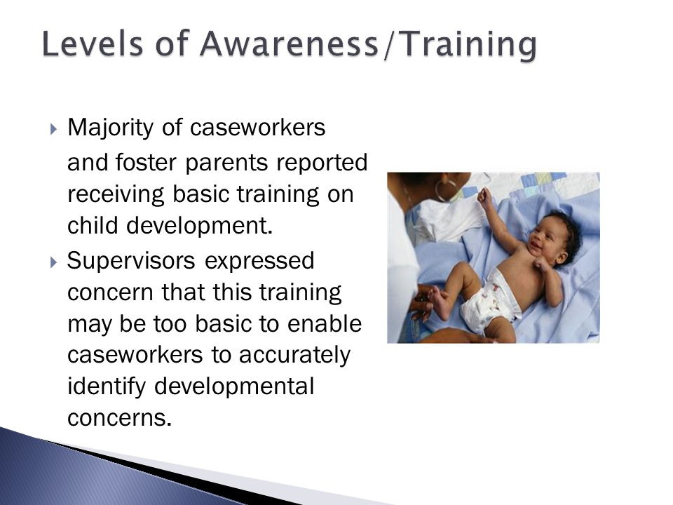 Levels of Awareness/Training