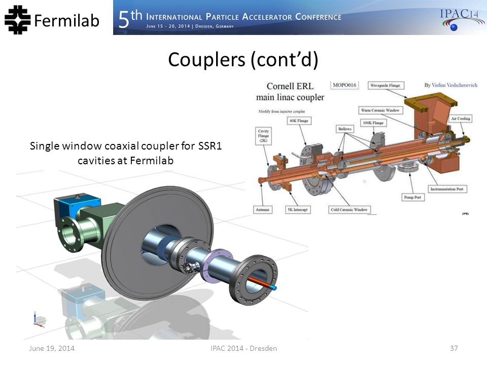 Single window coaxial coupler for SSR1 cavities at Fermilab
