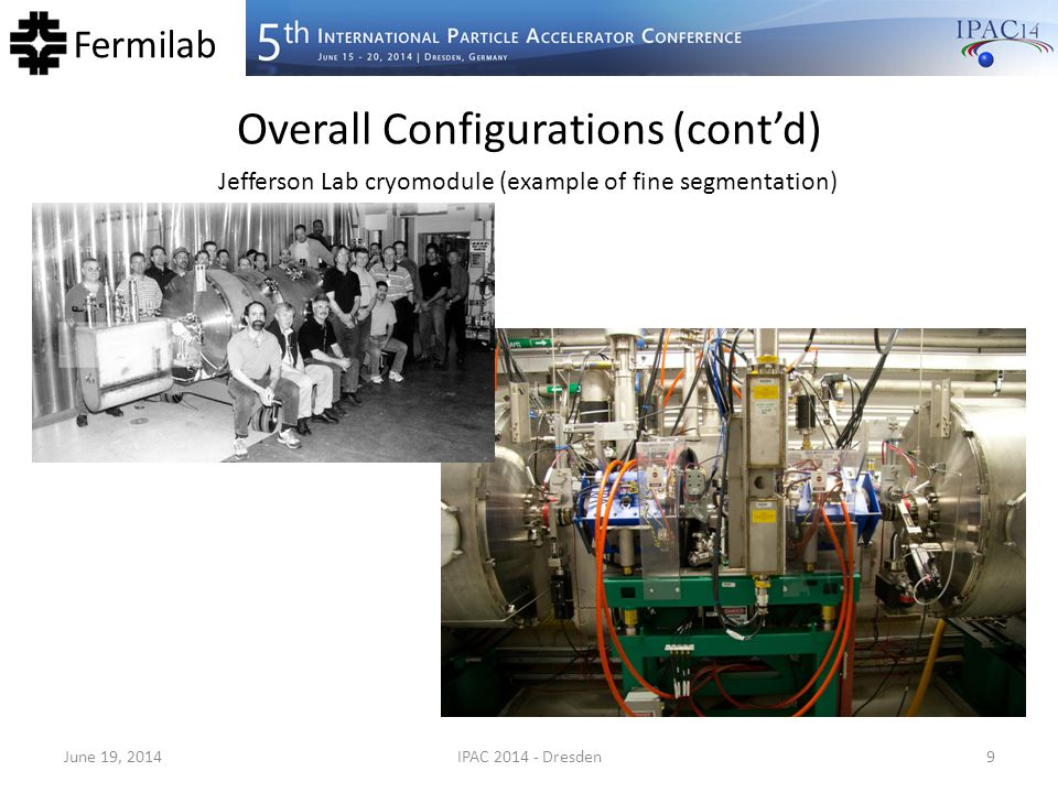 Overall Configurations (cont'd)