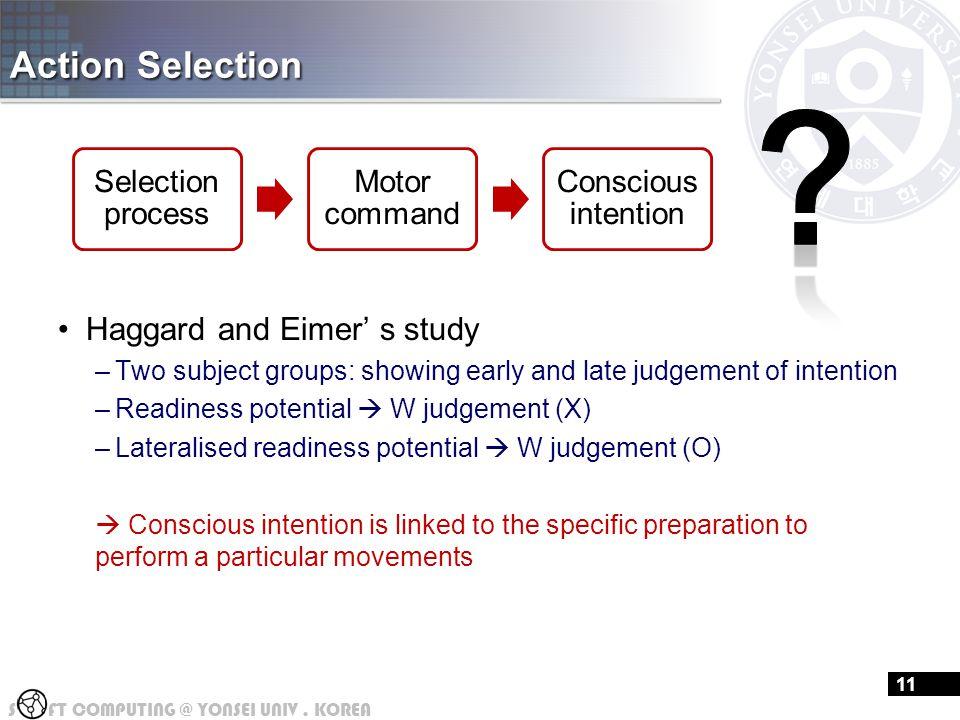 Action Selection(cont'd)