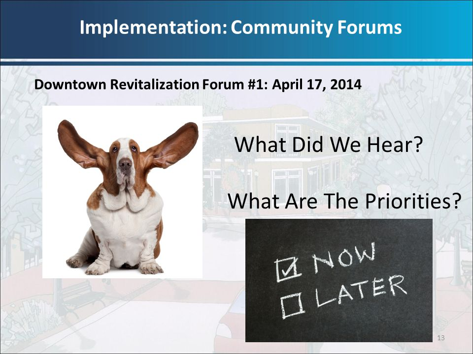 Implementation: Community Forums