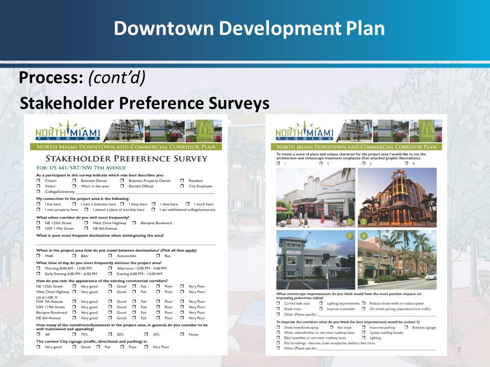 Downtown Development Plan