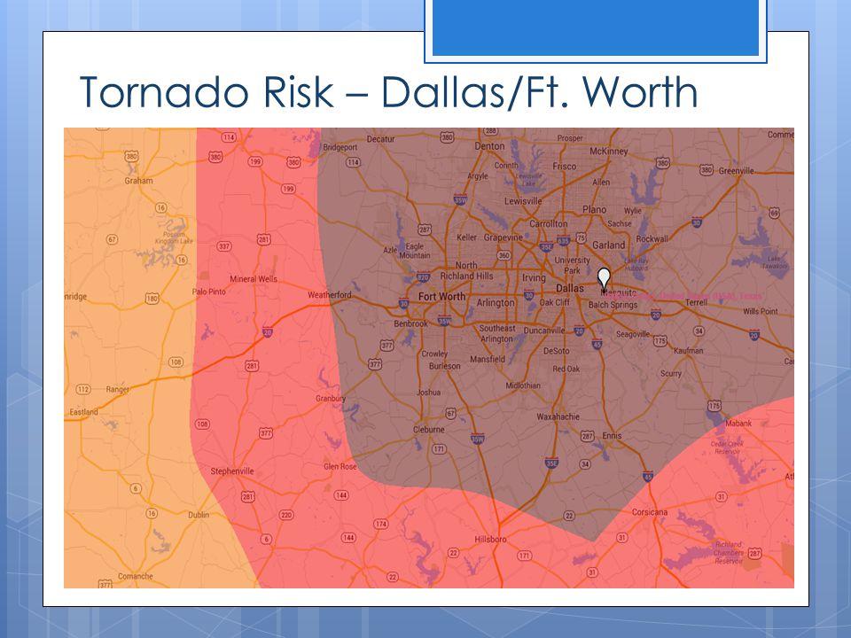 Tornado Risk – Dallas/Ft. Worth