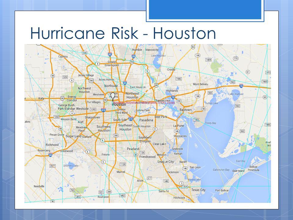 Hurricane Risk - Houston