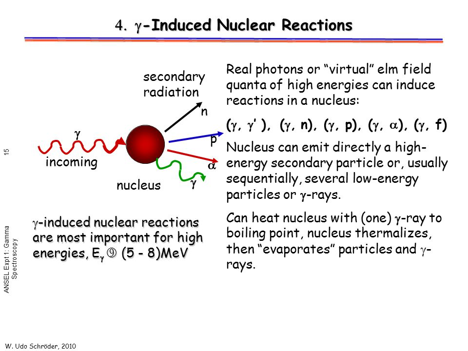 4. g-Induced Nuclear Reactions
