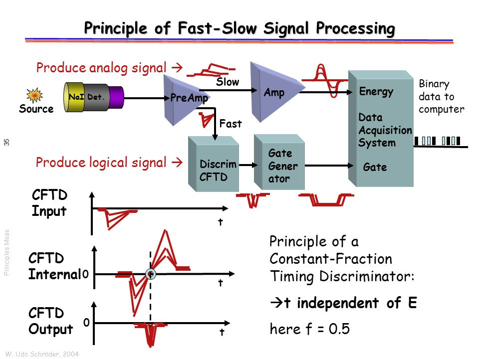 Principle of Fast-Slow Signal Processing