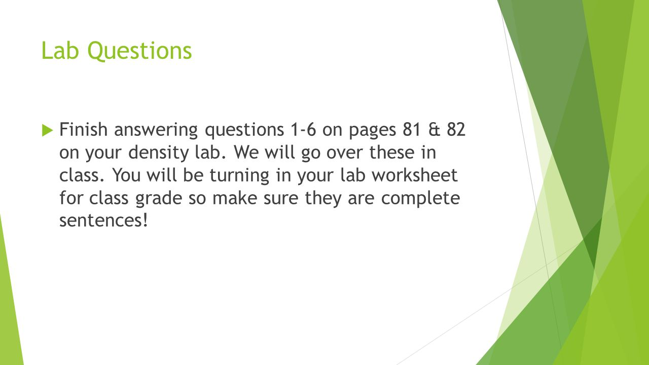 Lab Questions