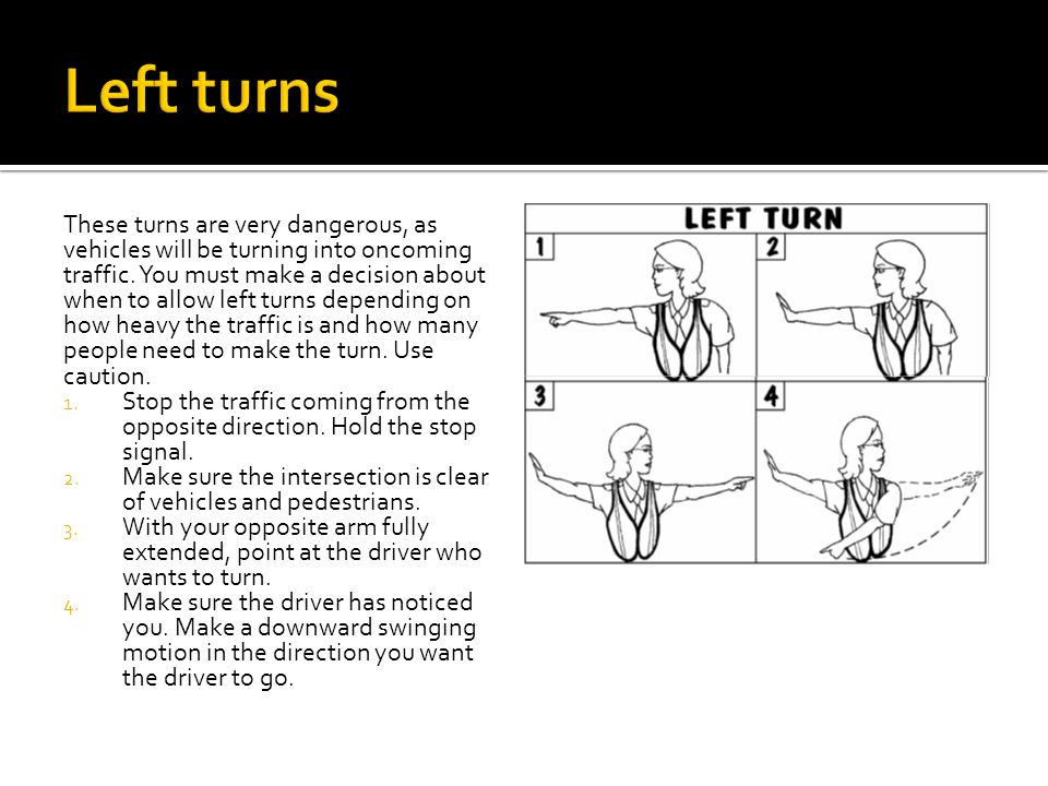Left turns