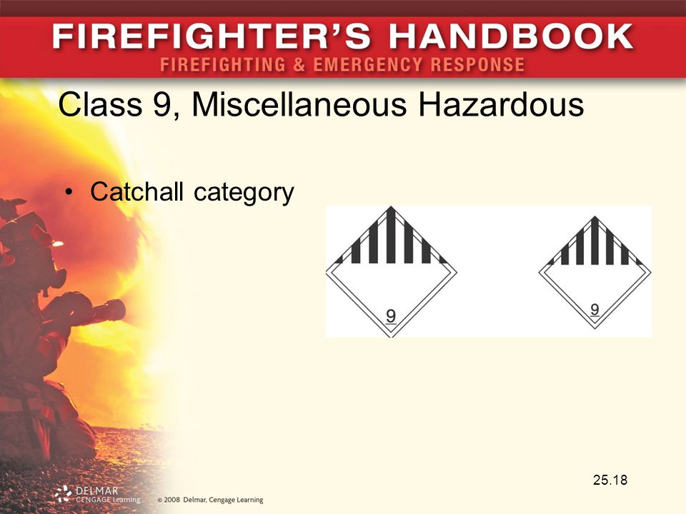 Class 9, Miscellaneous Hazardous
