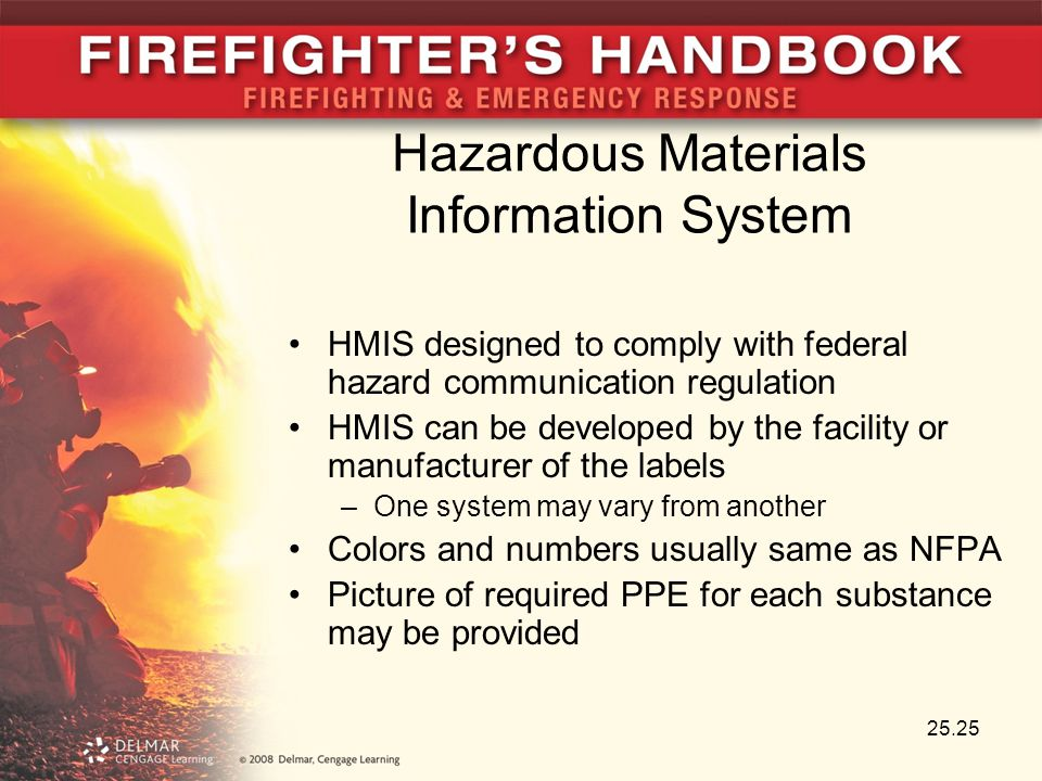 Hazardous Materials Information System