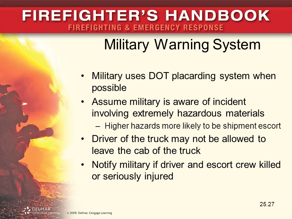 Military Warning System