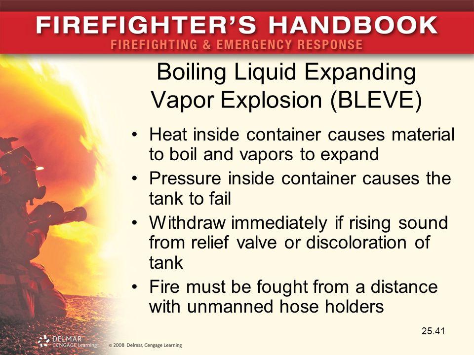 Boiling Liquid Expanding Vapor Explosion (BLEVE)