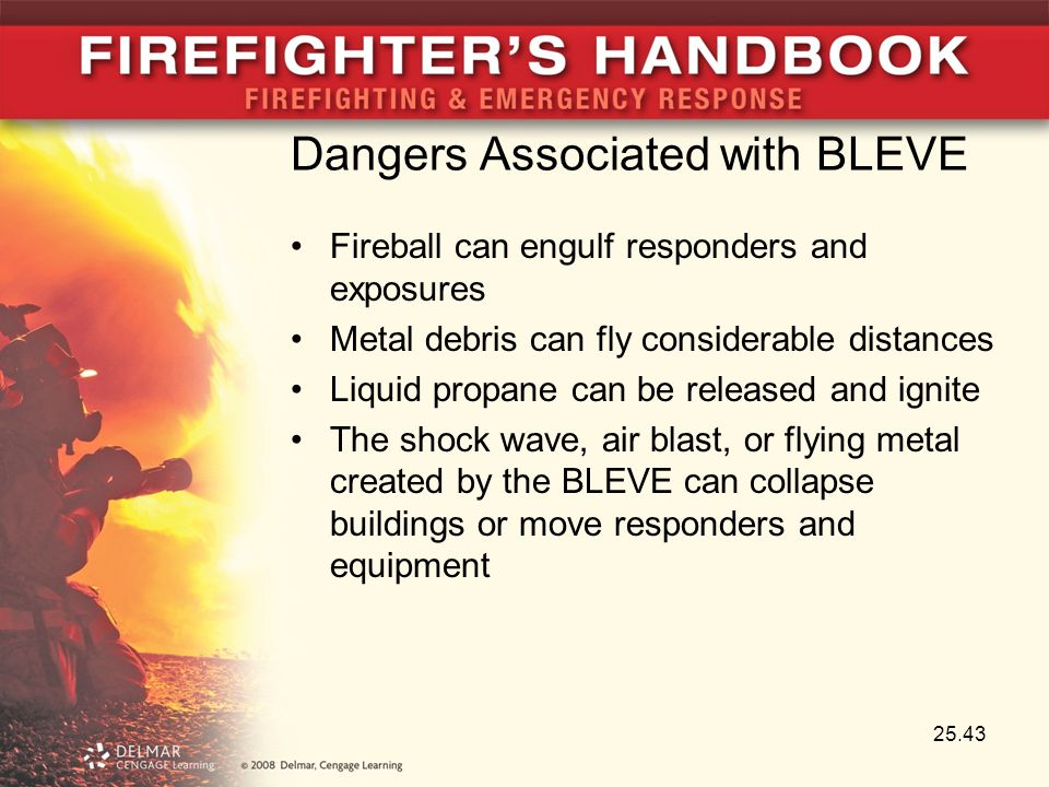 Dangers Associated with BLEVE