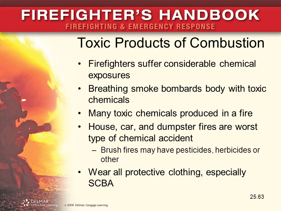 Toxic Products of Combustion