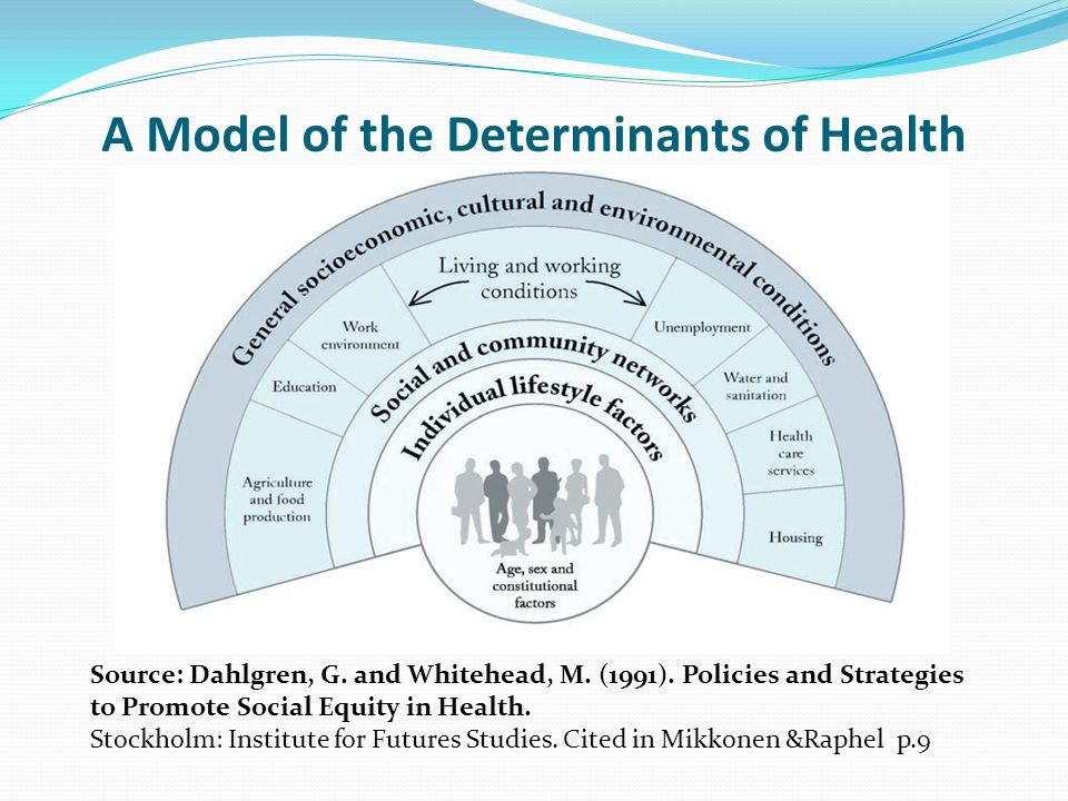 A Model of the Determinants of Health