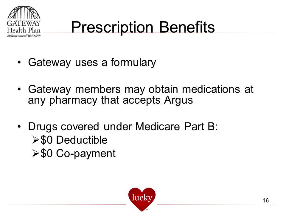 Prescription Benefits