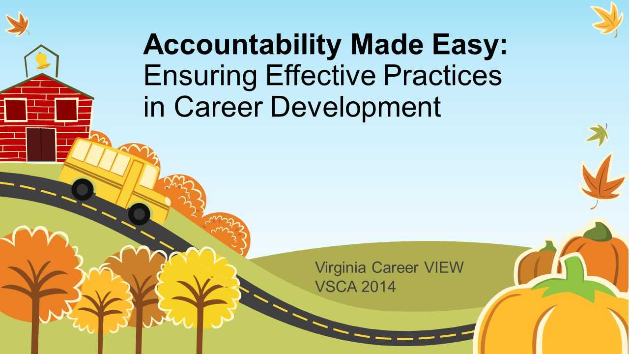 Virginia Career VIEW VSCA 2014