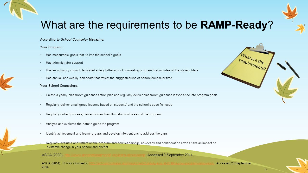 What are the requirements to be RAMP-Ready