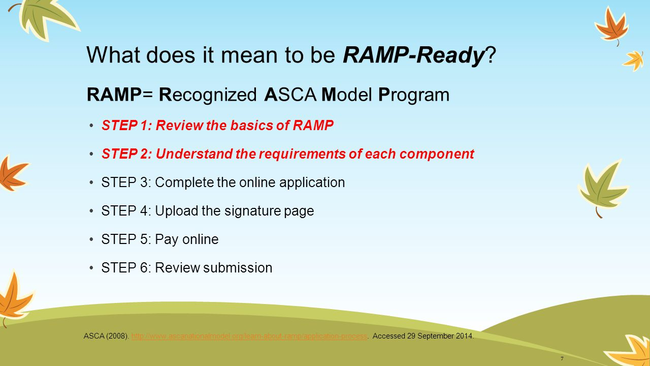 What does it mean to be RAMP-Ready