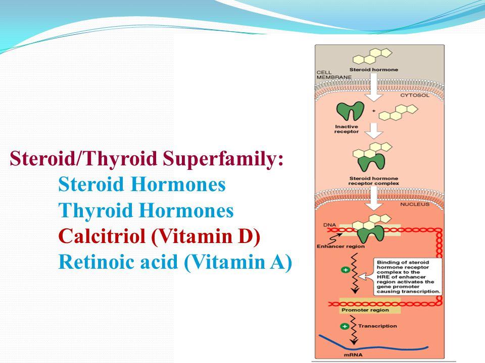 Steroid/Thyroid Superfamily: Thyroid Hormones Calcitriol (Vitamin D)