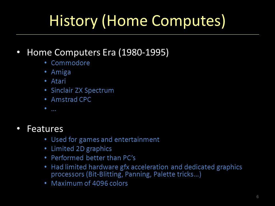 History (Home Computes)