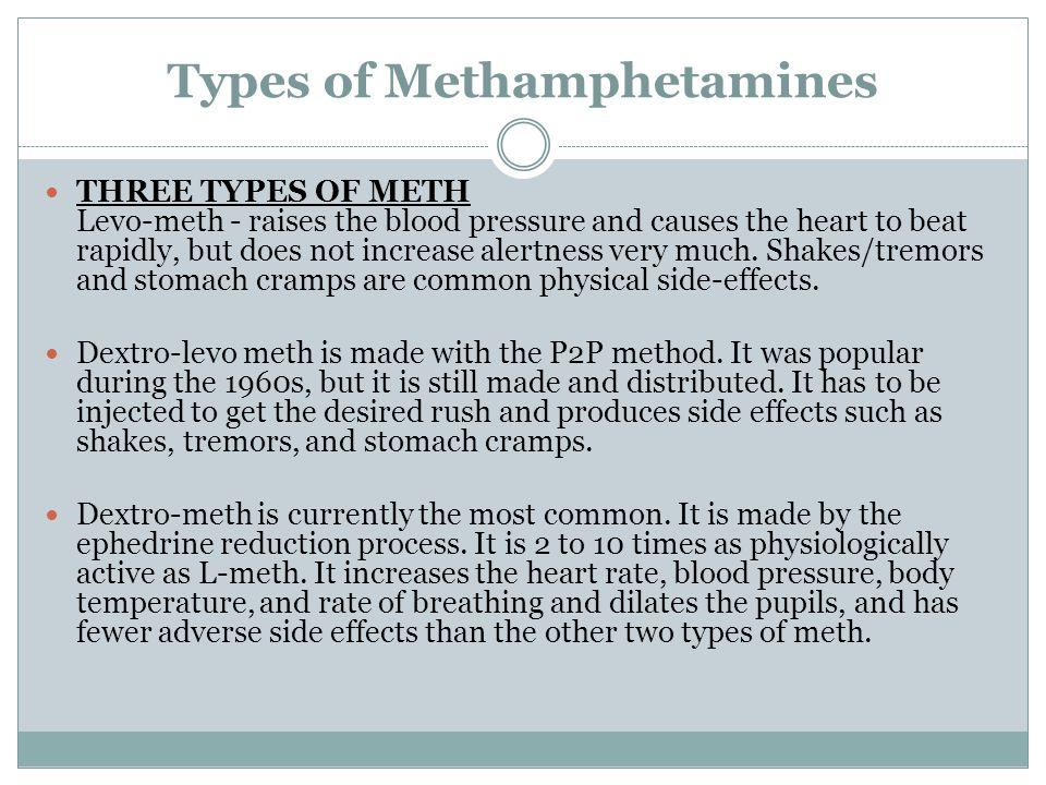 Types of Methamphetamines