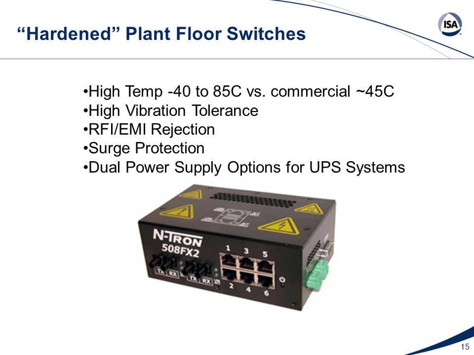 Hardened Plant Floor Switches