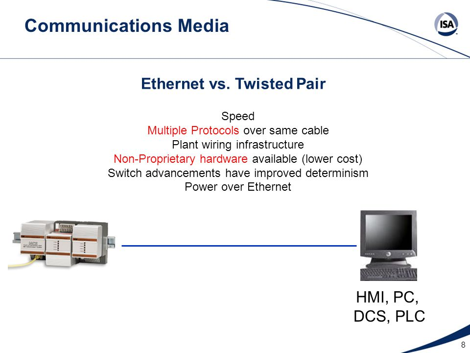 Ethernet vs. Twisted Pair