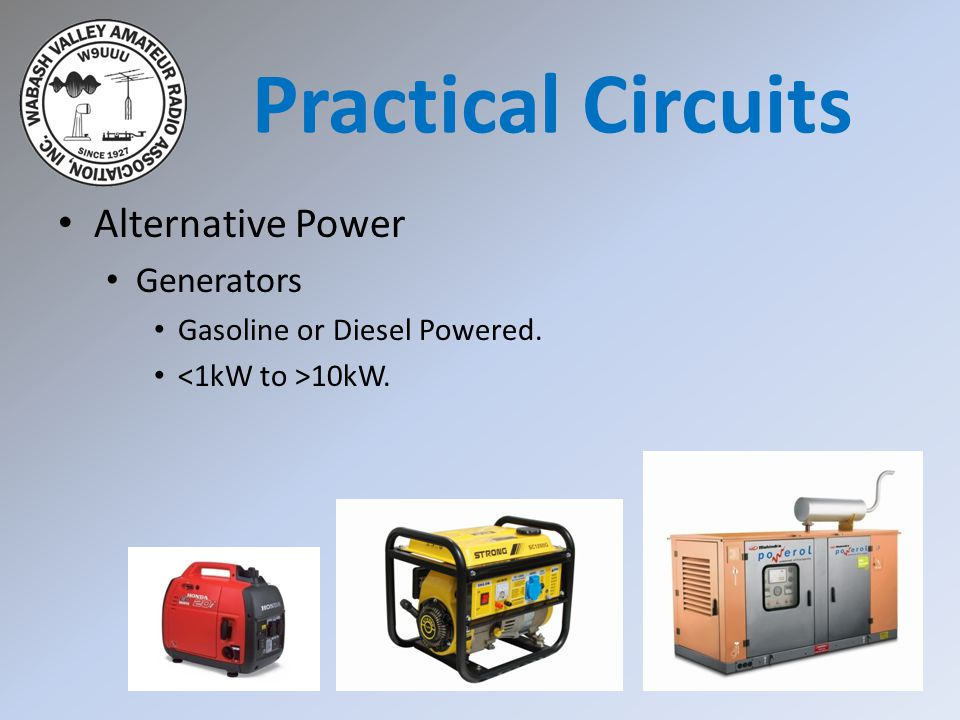 Practical Circuits Alternative Power Generators