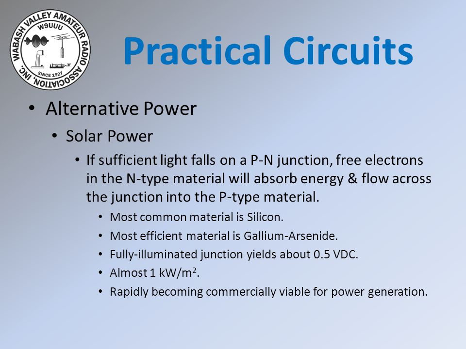 Practical Circuits Alternative Power Solar Power