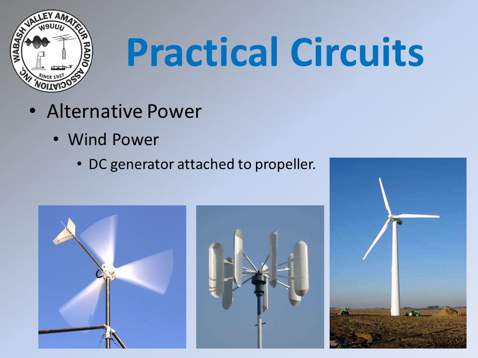 Practical Circuits Alternative Power Wind Power