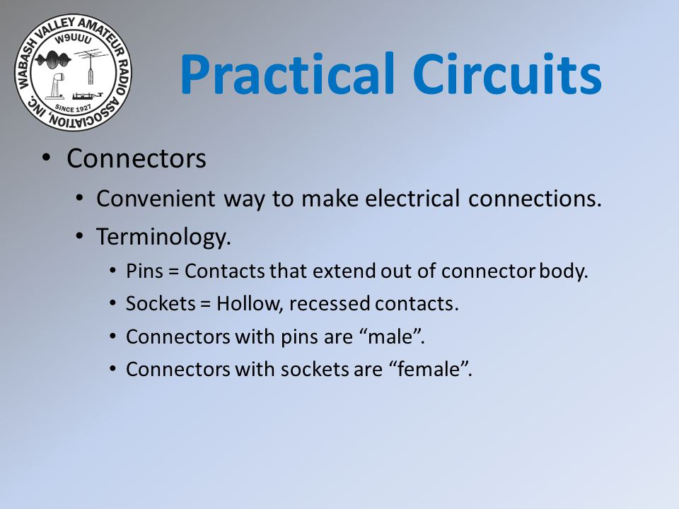 Practical Circuits Connectors